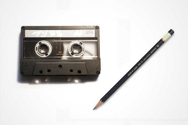 Pencil and cassette age test